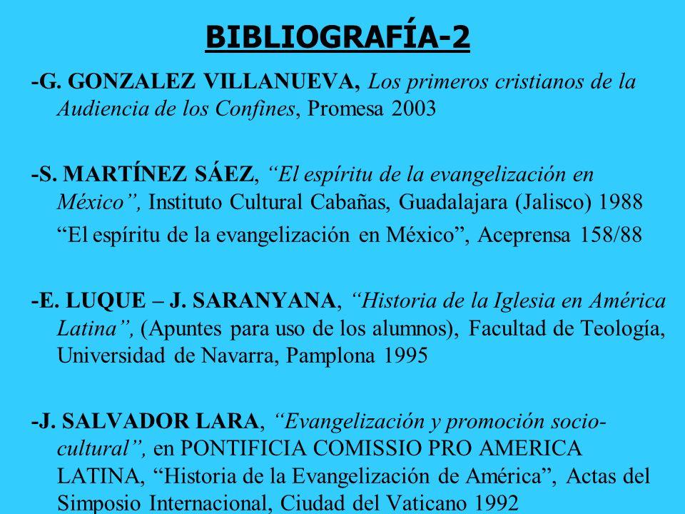BIBLIOGRAFÍA-2 -G. GONZALEZ VILLANUEVA, Los primeros cristianos de la Audiencia de los Confines, Promesa 2003.