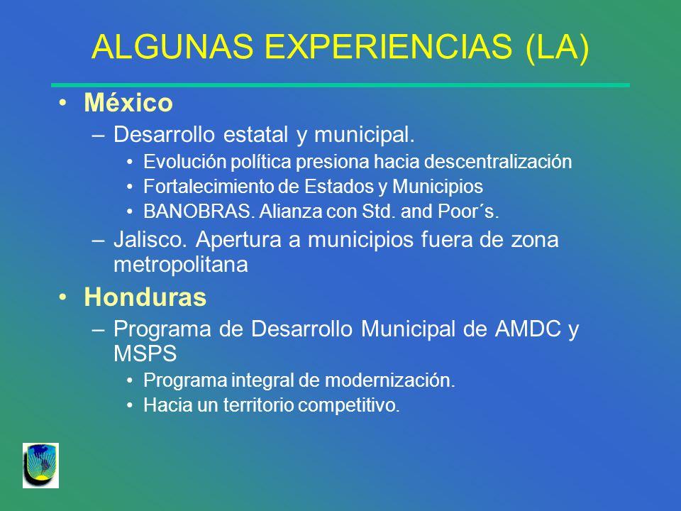ALGUNAS EXPERIENCIAS (LA)