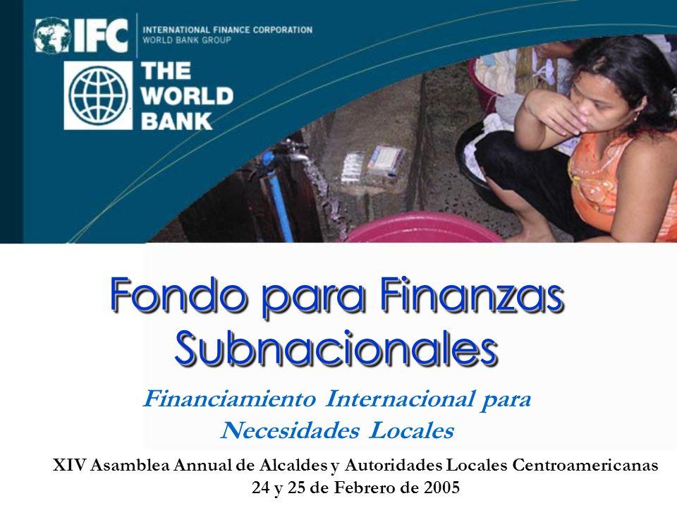 Fondo para Finanzas Subnacionales