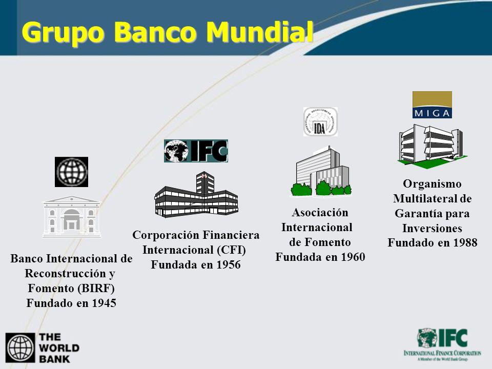 Grupo Banco Mundial Organismo Multilateral de