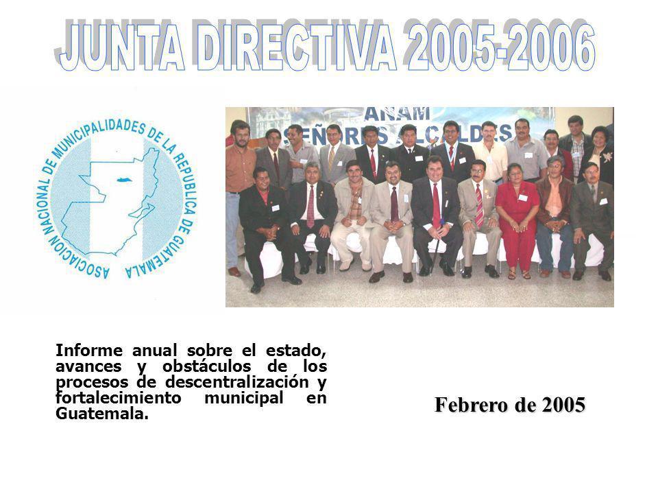 JUNTA DIRECTIVA 2005-2006 Febrero de 2005