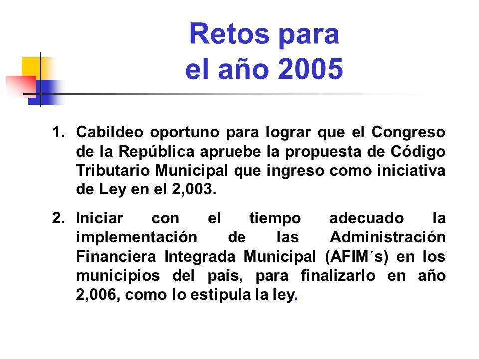 Retos para el año 2005