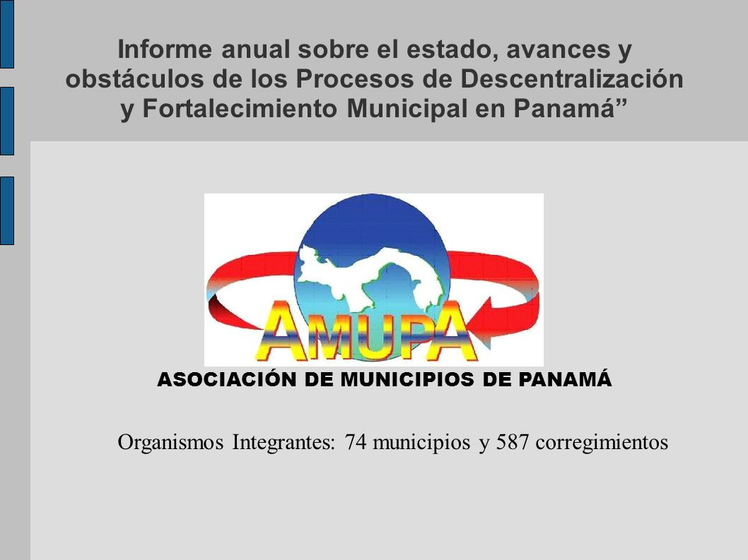 ASOCIACIÓN DE MUNICIPIOS DE PANAMÁ