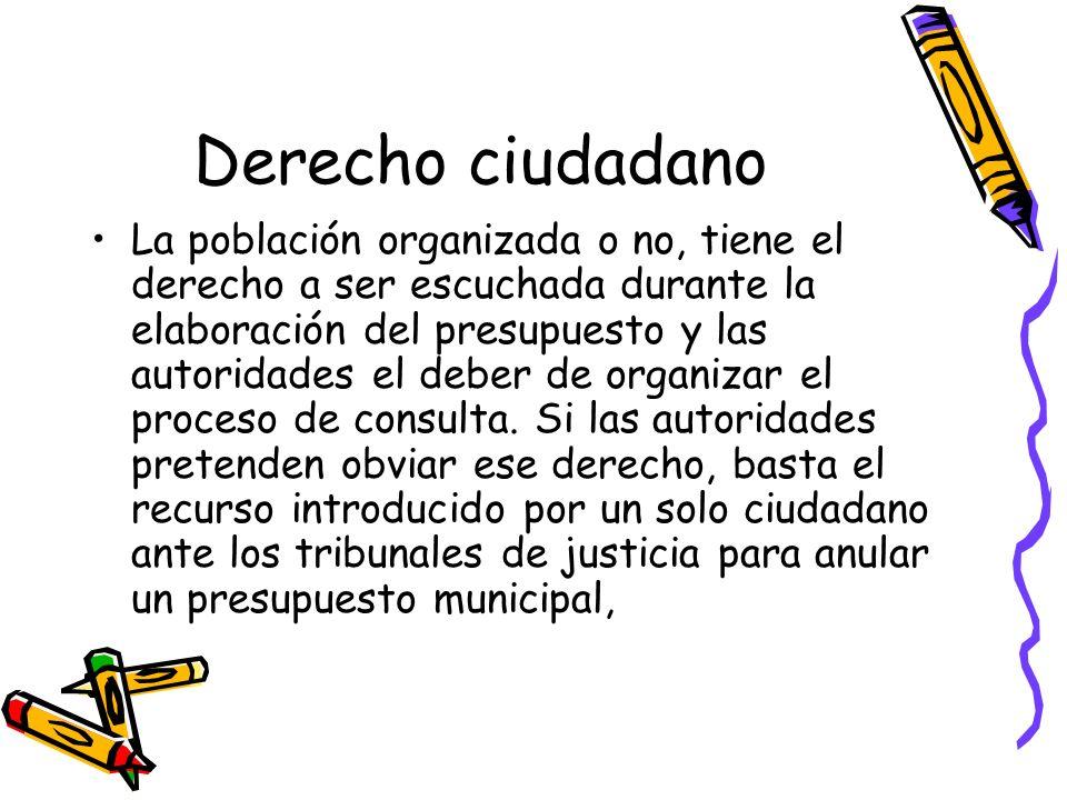 Derecho ciudadano