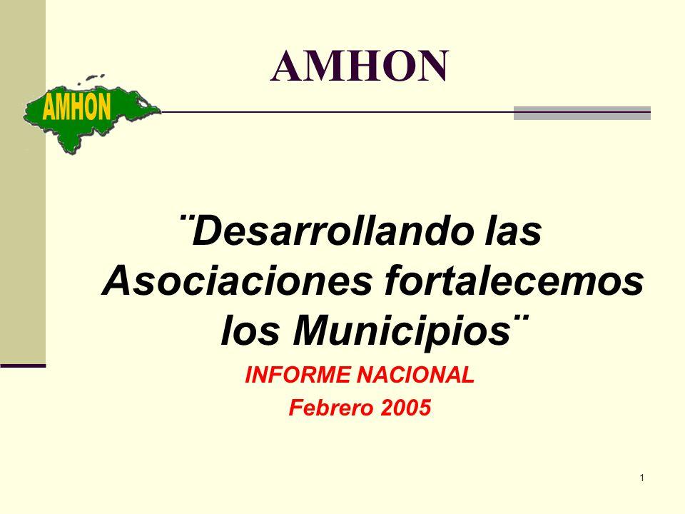 ¨Desarrollando las Asociaciones fortalecemos los Municipios¨