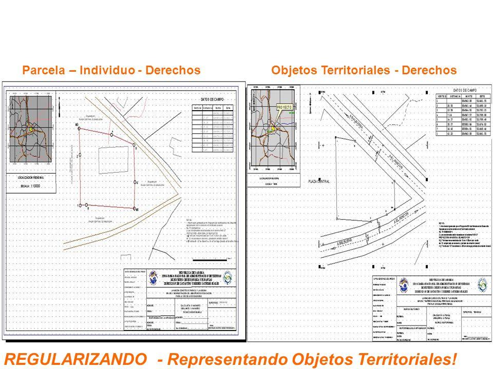 REGULARIZANDO - Representando Objetos Territoriales!