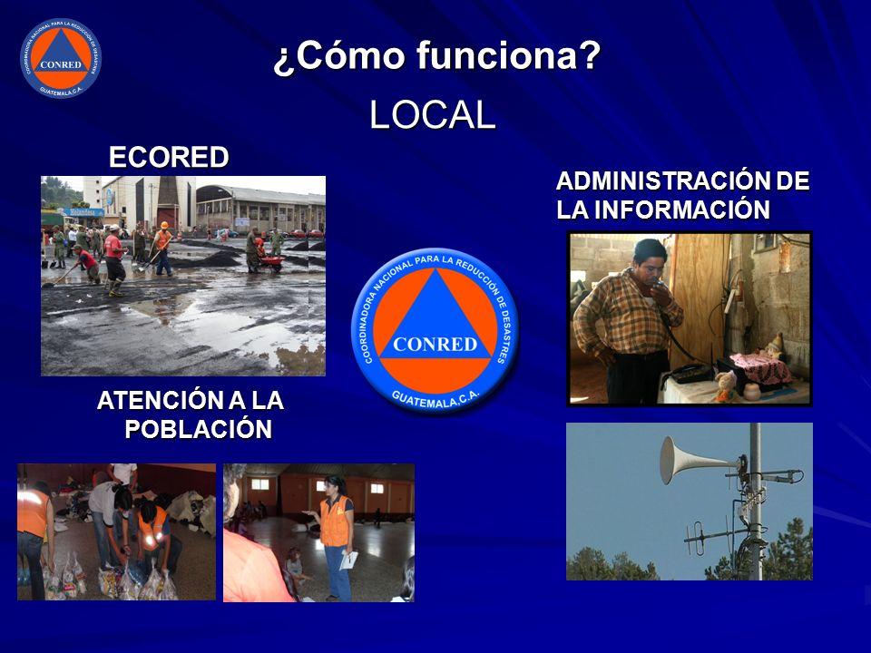 ¿Cómo funciona LOCAL ECORED ADMINISTRACIÓN DE LA INFORMACIÓN