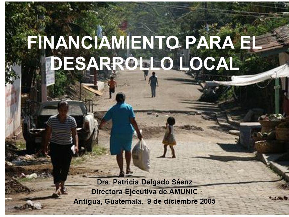 FINANCIAMIENTO PARA EL DESARROLLO LOCAL