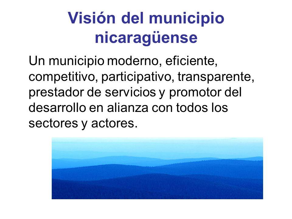 Visión del municipio nicaragüense