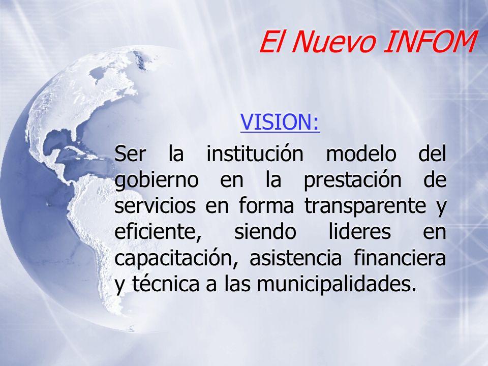 El Nuevo INFOM VISION:
