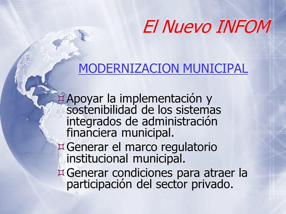 MODERNIZACION MUNICIPAL