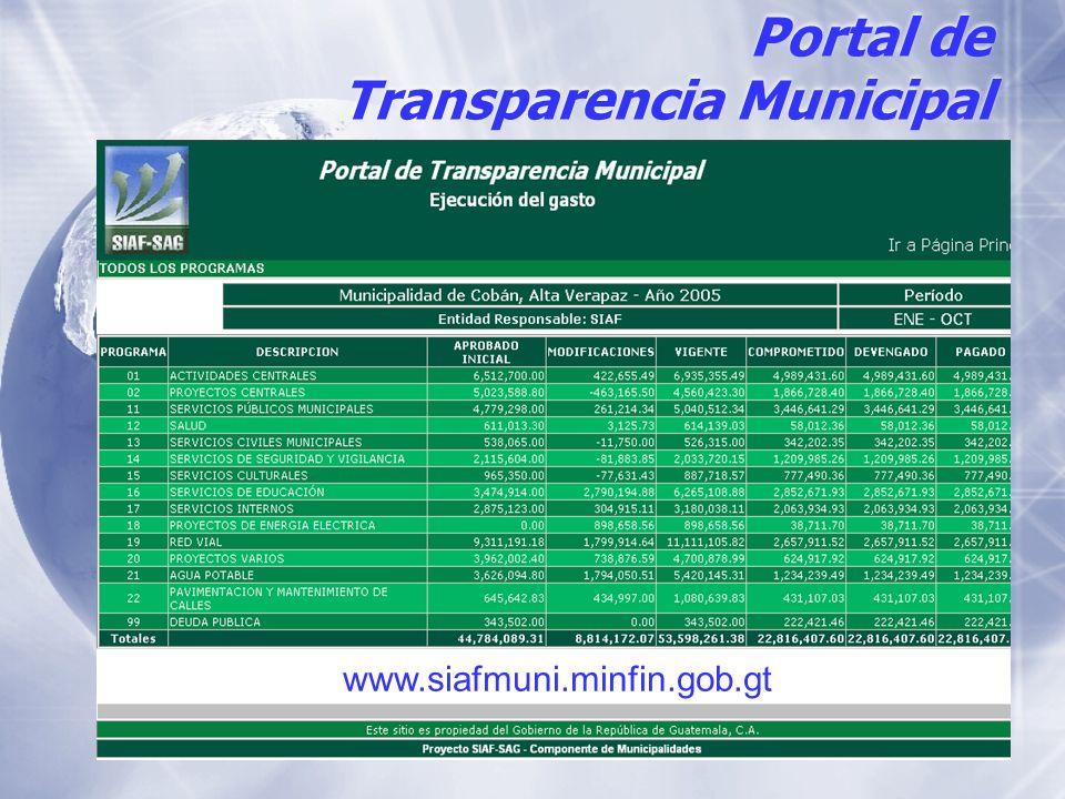 Portal de Transparencia Municipal