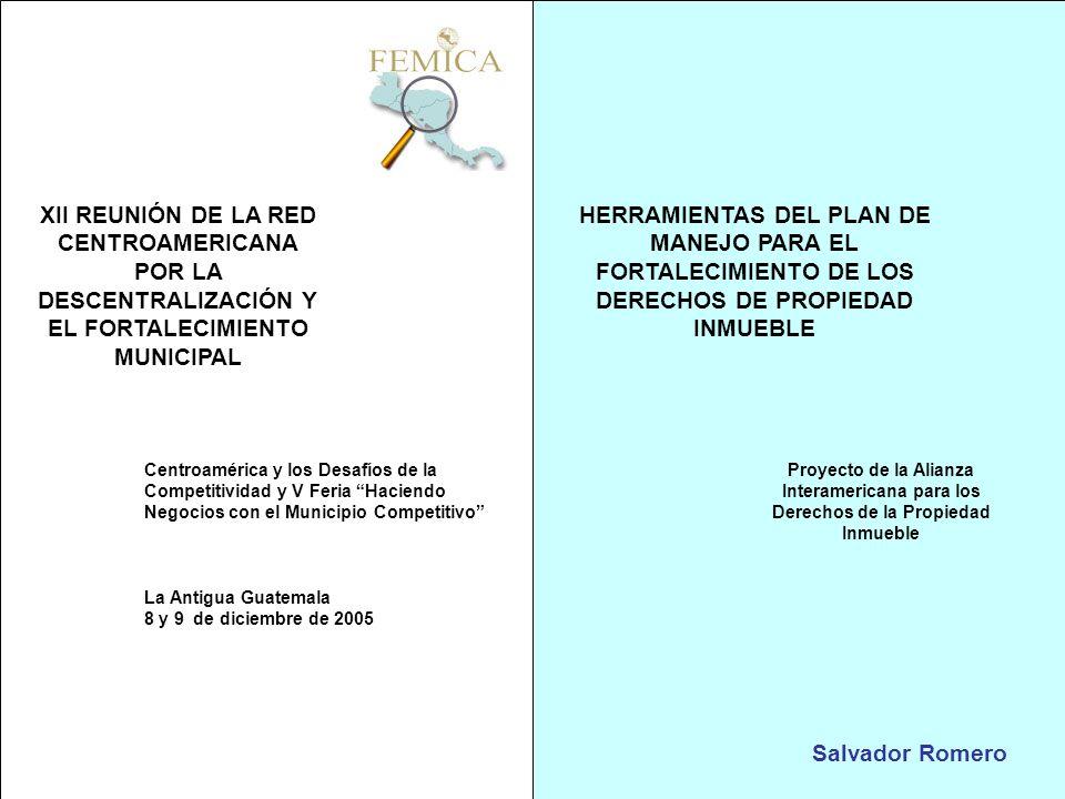 XII REUNIÓN DE LA RED CENTROAMERICANA POR LA DESCENTRALIZACIÓN Y EL FORTALECIMIENTO MUNICIPAL