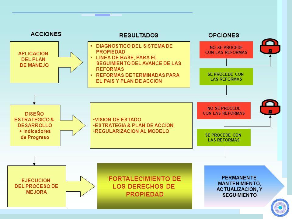 FORTALECIMIENTO DE LOS DERECHOS DE PROPIEDAD