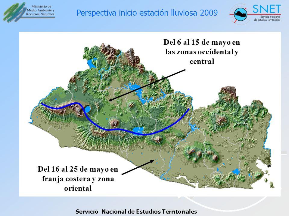 Perspectiva inicio estación lluviosa 2009