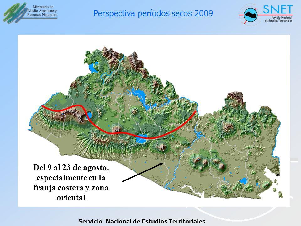 Perspectiva períodos secos 2009