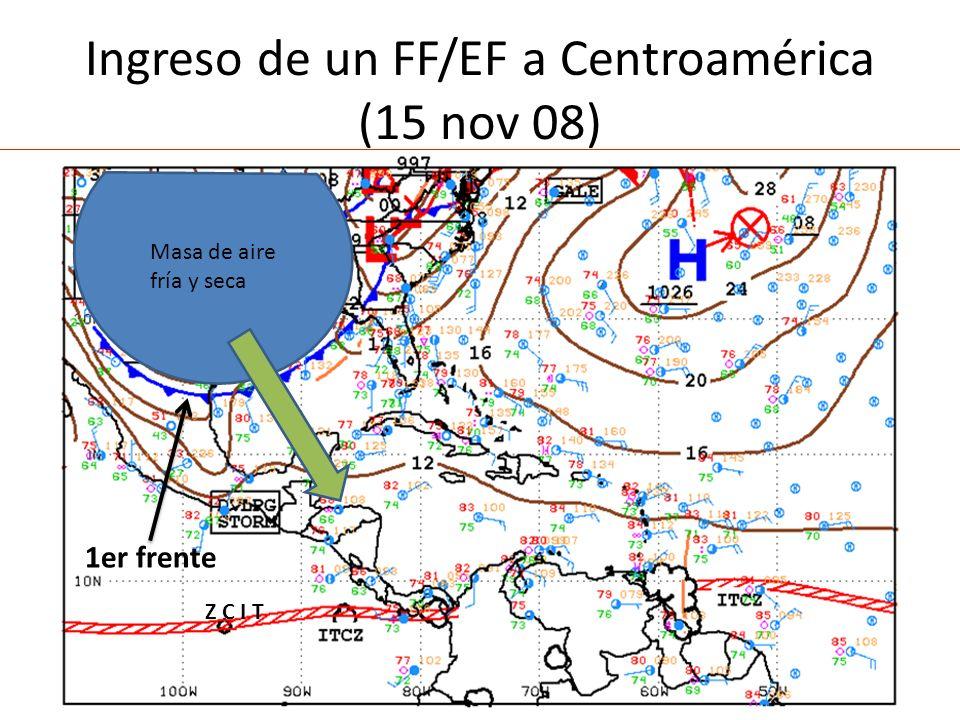 Ingreso de un FF/EF a Centroamérica (15 nov 08)