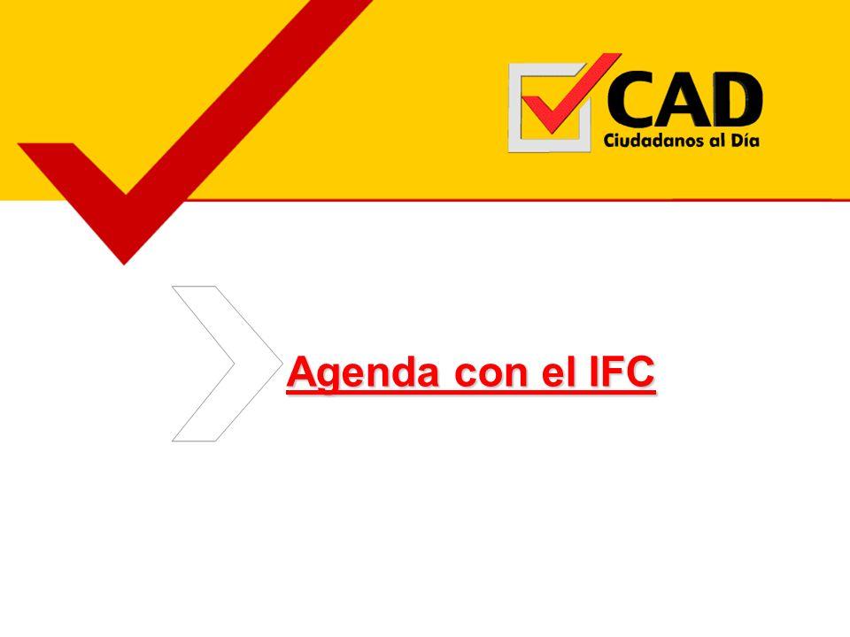 Agenda con el IFC