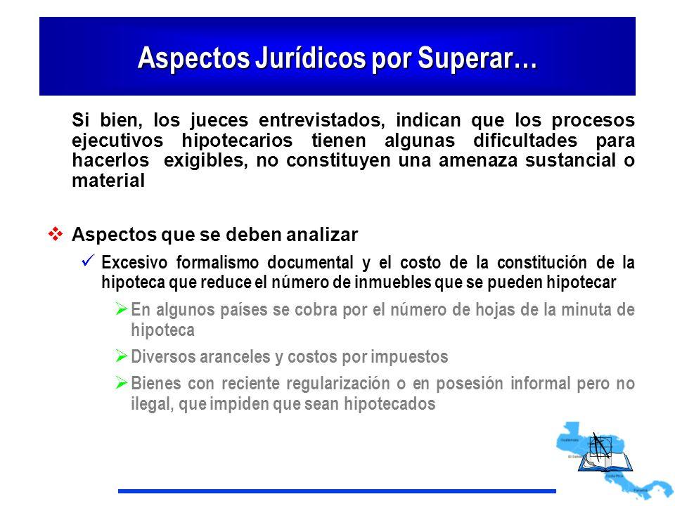 Aspectos Jurídicos por Superar…
