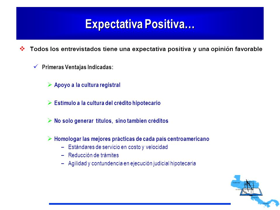 Expectativa Positiva…