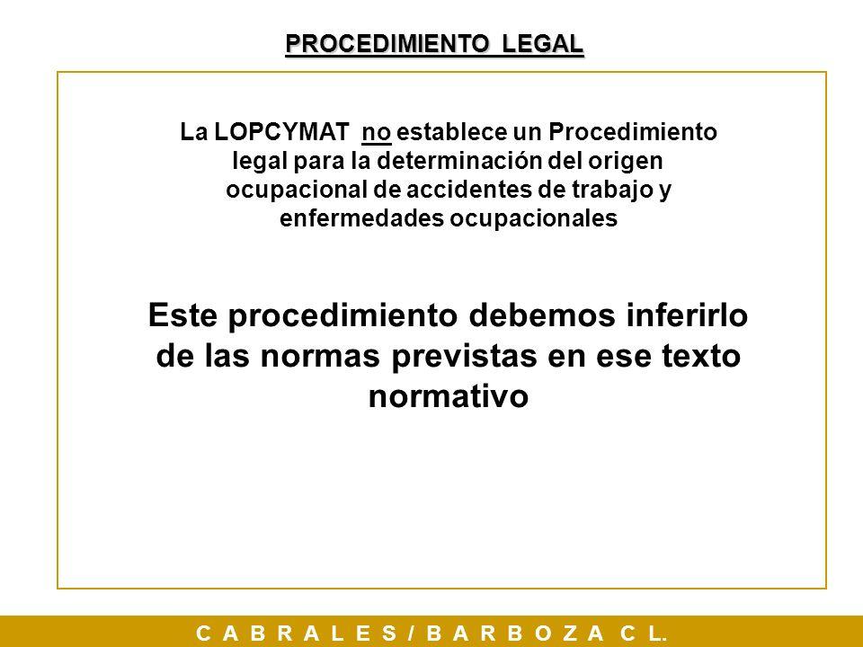 PROCEDIMIENTO LEGAL