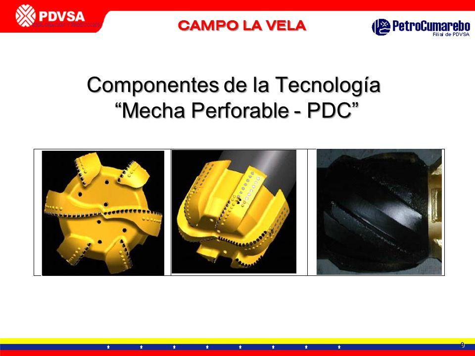 Componentes de la Tecnología Mecha Perforable - PDC
