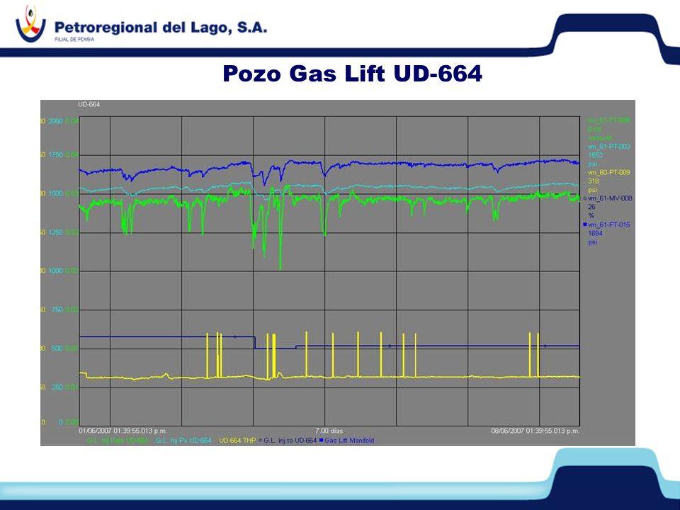 Pozo Gas Lift UD-664