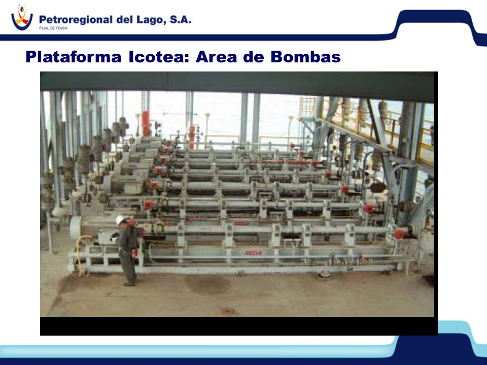 Plataforma Icotea: Area de Bombas