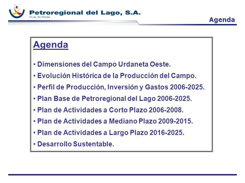 Agenda Dimensiones del Campo Urdaneta Oeste.