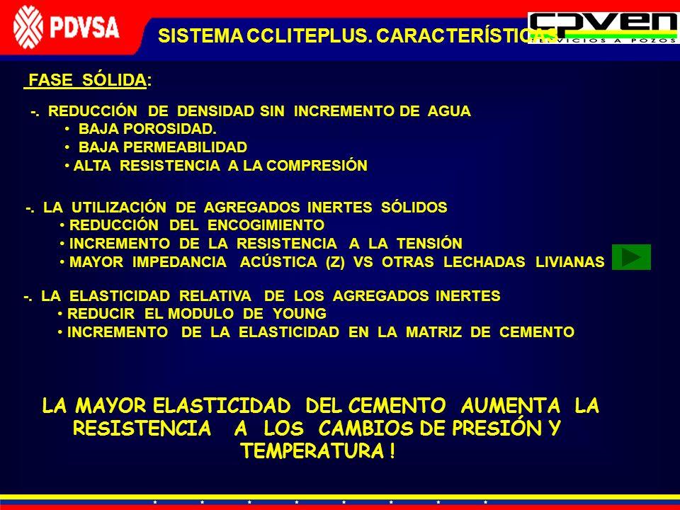SISTEMA CCLITEPLUS. CARACTERÍSTICAS