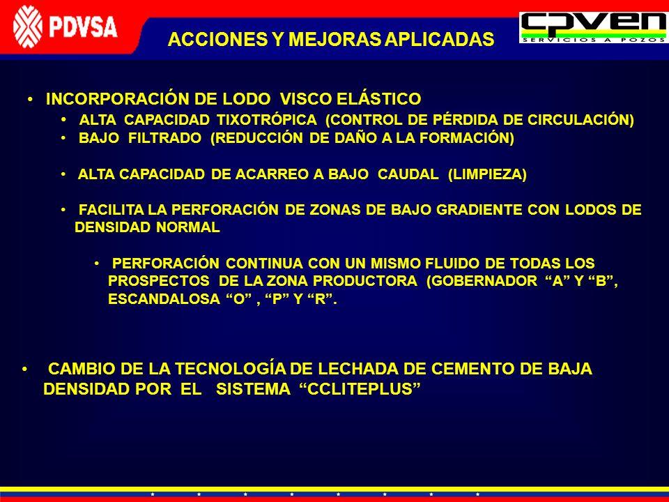 INCORPORACIÓN DE LODO VISCO ELÁSTICO