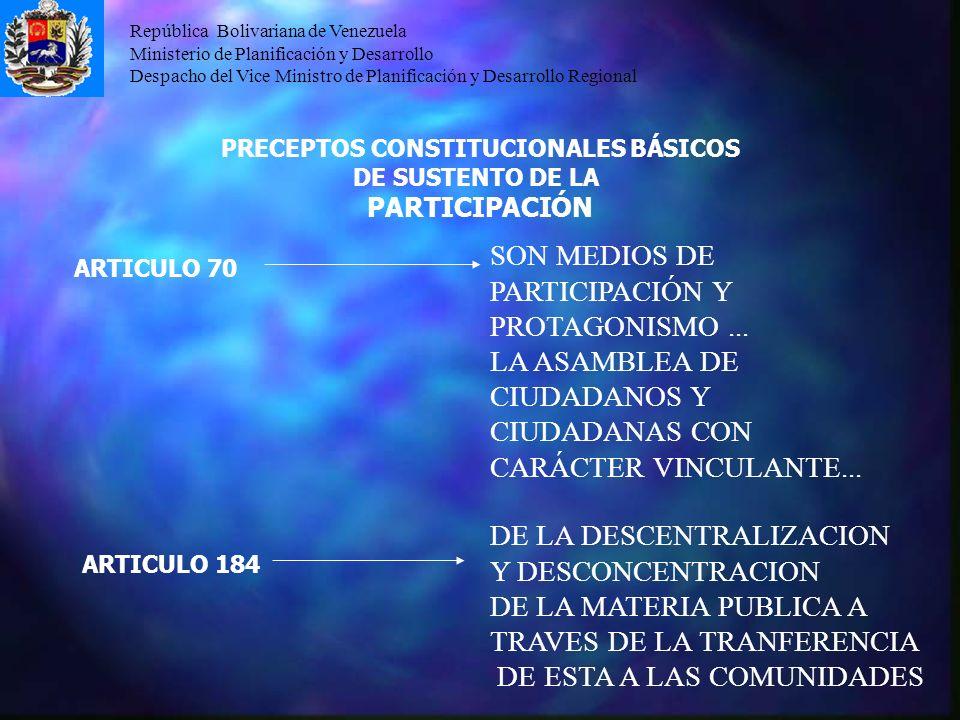 PRECEPTOS CONSTITUCIONALES BÁSICOS