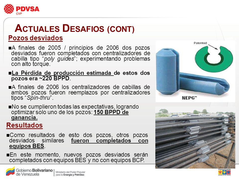 ACTUALES DESAFIOS (CONT)