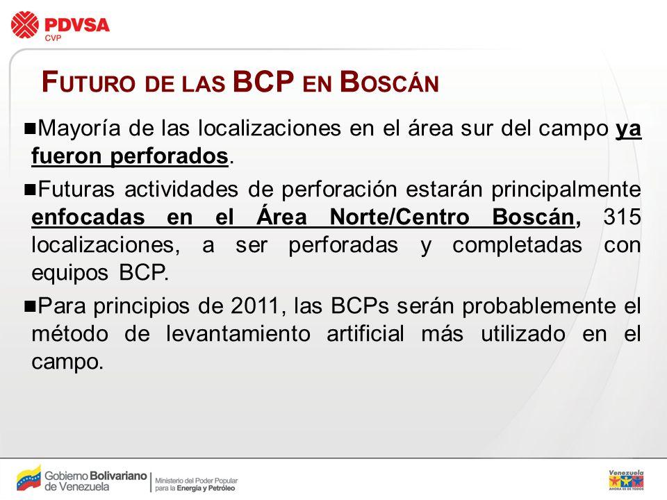 FUTURO DE LAS BCP EN BOSCÁN