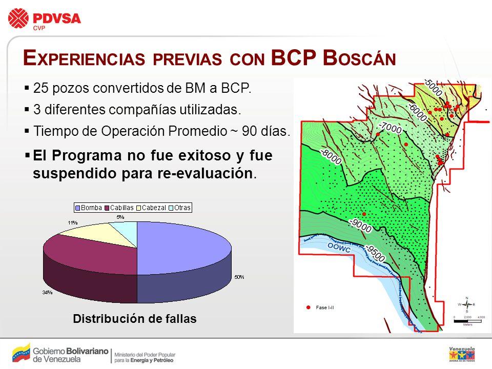 EXPERIENCIAS PREVIAS CON BCP BOSCÁN