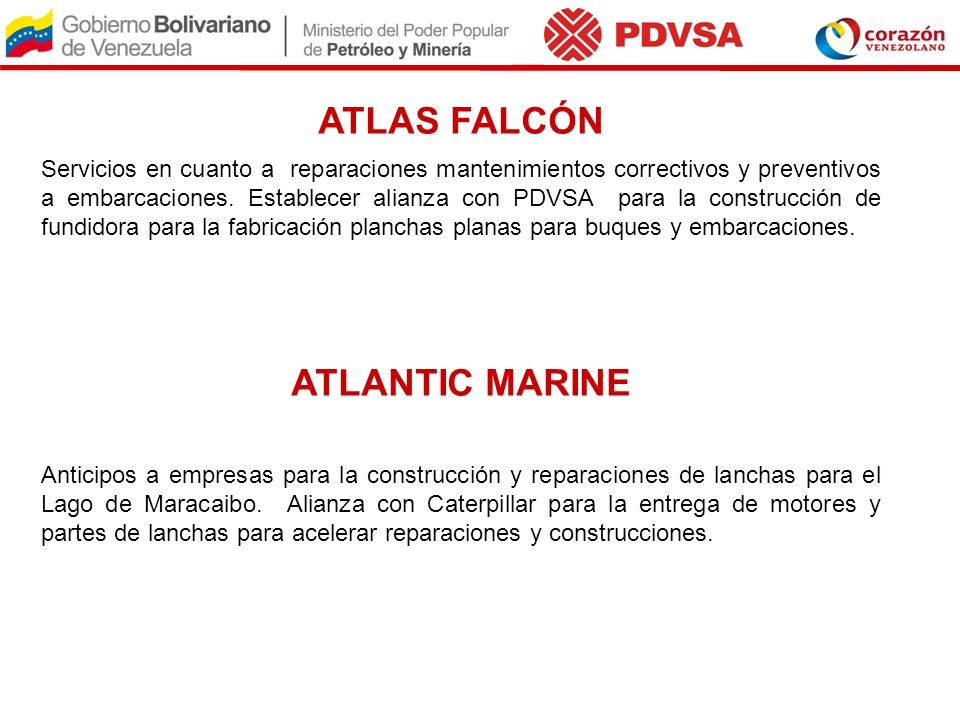 ATLAS FALCÓN ATLANTIC MARINE