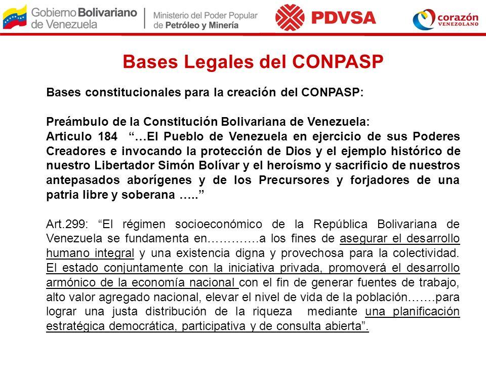 Bases Legales del CONPASP