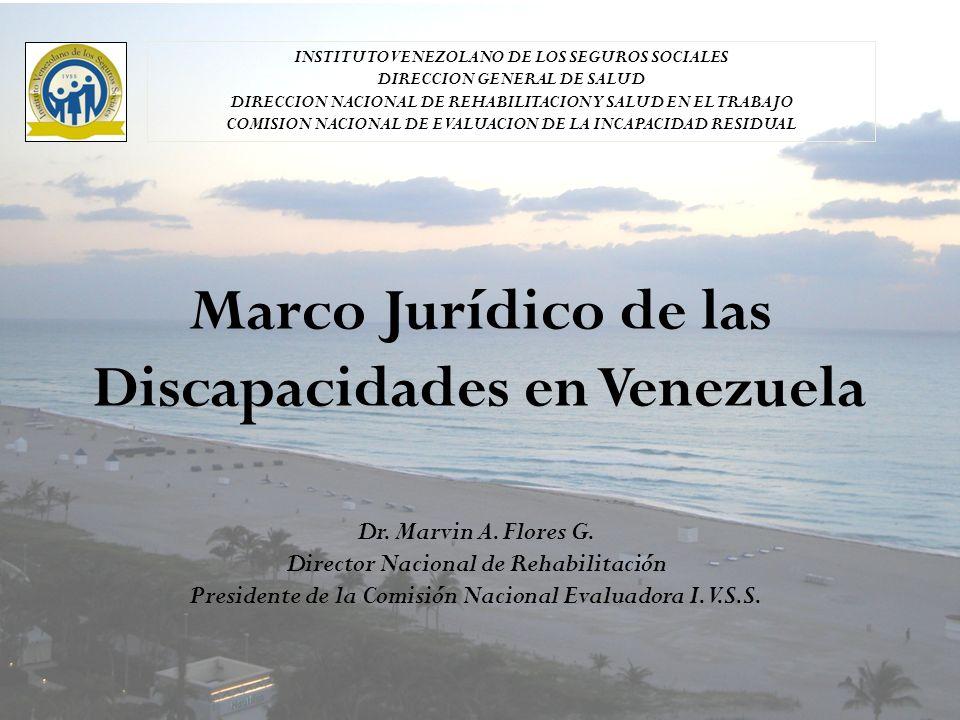 Marco Jurídico de las Discapacidades en Venezuela
