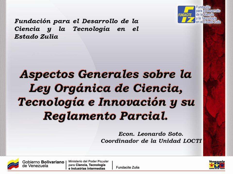 Coordinador de la Unidad LOCTI