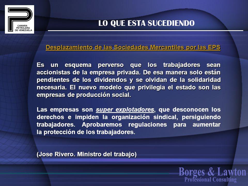 Borges & Lawton LO QUE ESTA SUCEDIENDO