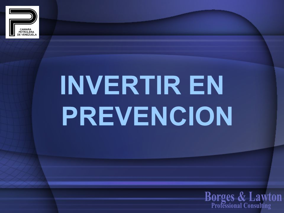 INVERTIR EN PREVENCION Professional Consulting