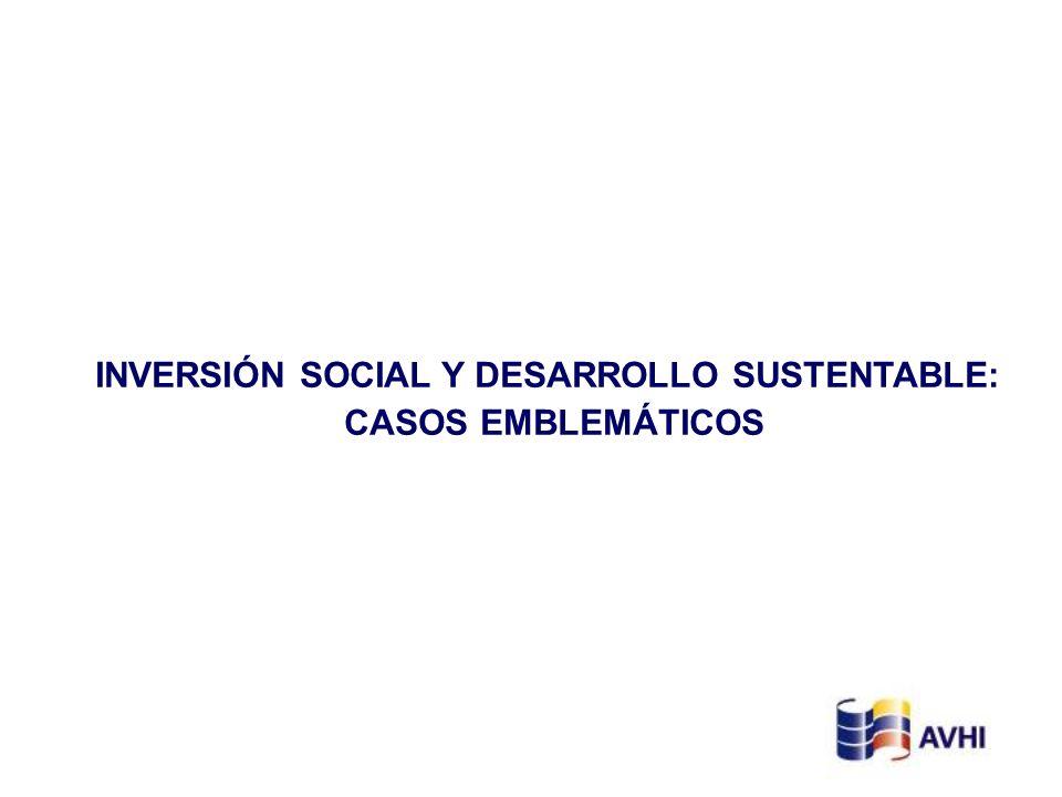 INVERSIÓN SOCIAL Y DESARROLLO SUSTENTABLE:
