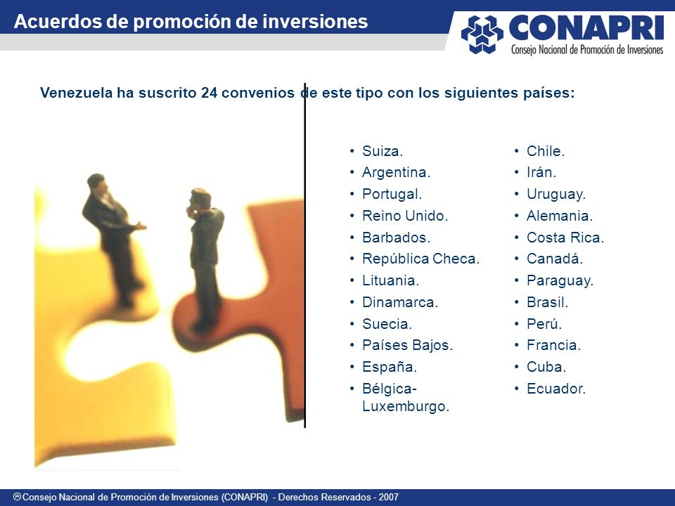 Acuerdos de promoción de inversiones