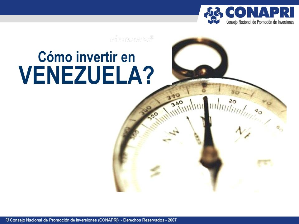 Cómo invertir en VENEZUELA