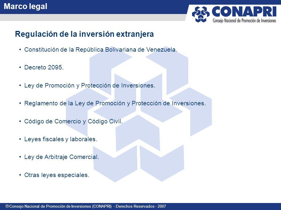 Regulación de la inversión extranjera