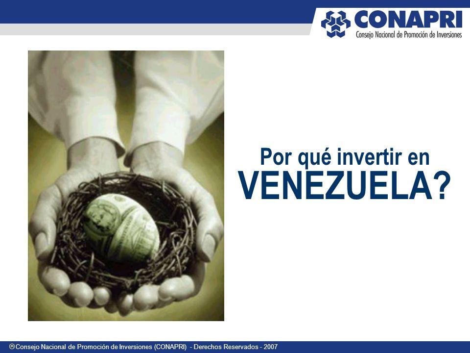 Por qué invertir en VENEZUELA