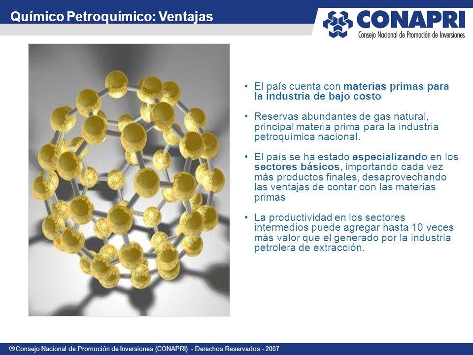 Químico Petroquímico: Ventajas