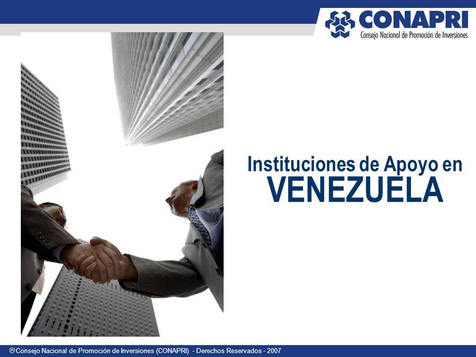 Instituciones de Apoyo en VENEZUELA