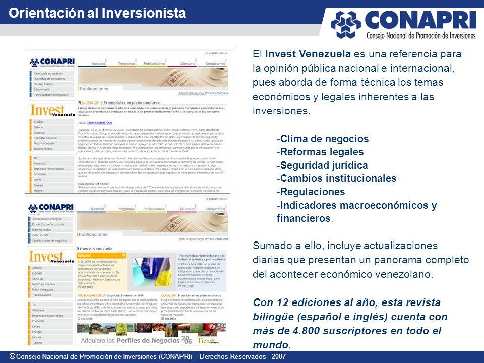 Orientación al Inversionista