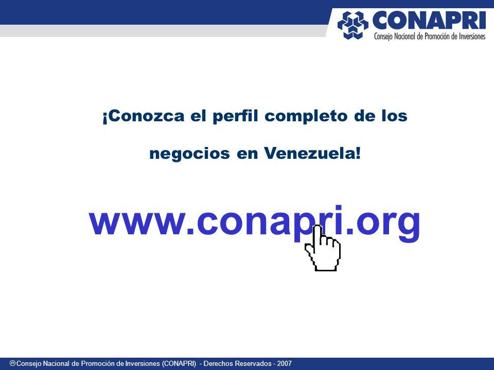 ¡Conozca el perfil completo de los negocios en Venezuela!